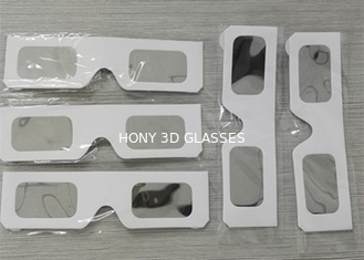 China White Paper Eclipse Solar Filter Glasses , High Safe Solar Sun Viewing Glasses supplier