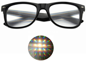 Premium Diffraction Prism Rave Glasses Rainbow Glasses For New Year Holidays Parties