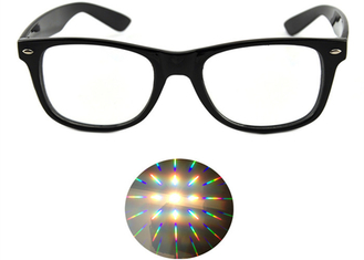 13500 Lines Light Gratings Diffraction Prism Fireworks Rave Glasses Plastic